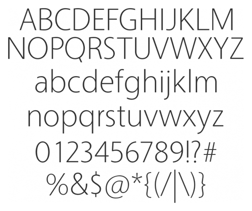 Free Sample Font Styles