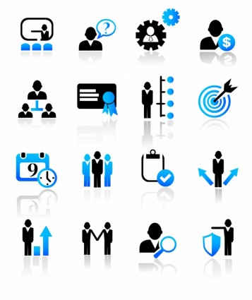 8 Business Management Icon Images