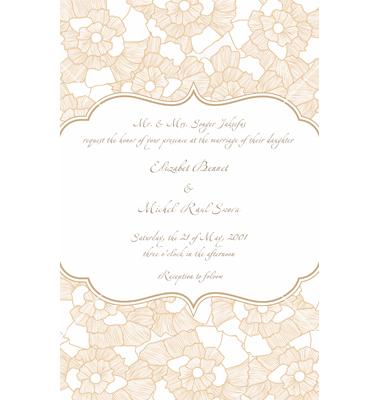Free Vector Wedding Cards Design