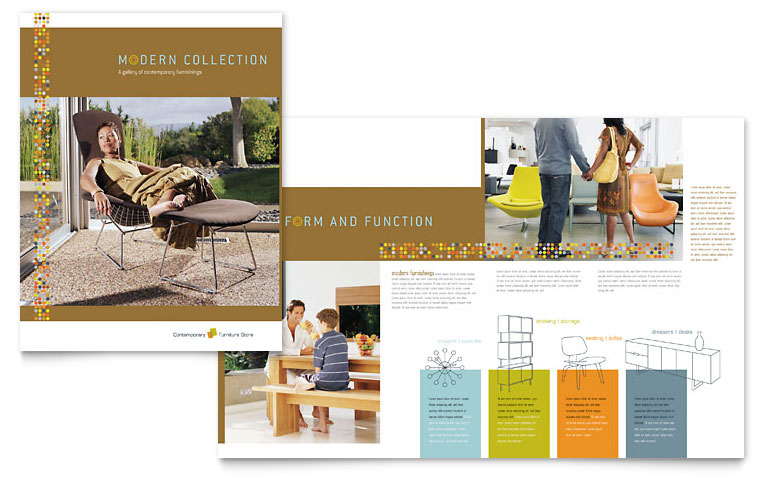 15 A3 Brochure PSD Design Images