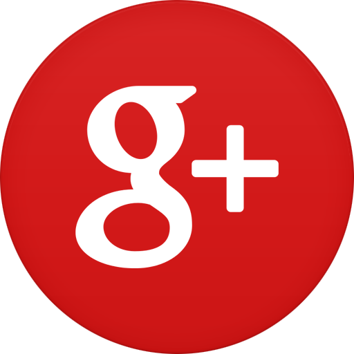 15 Google Plus Icon Round PNG Images