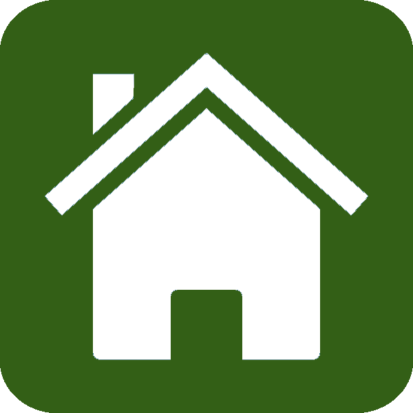 8 Green Home Icon Images