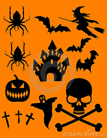 Halloween Theme Clip Art