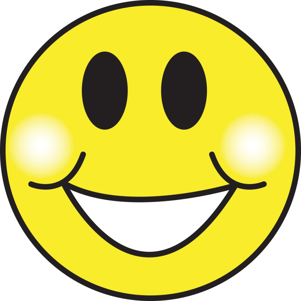 17 Emoticon Happy Face Clip Art Images