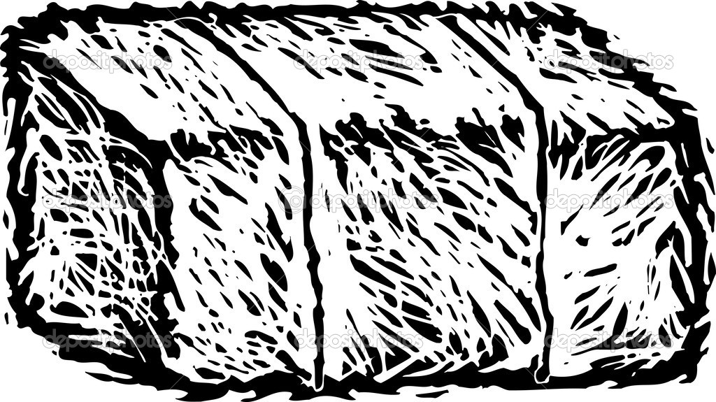 11 Hay Bale Vector Images