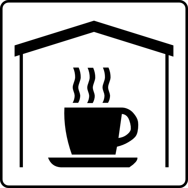 5 Small Person Icon Drinking Coffee Images