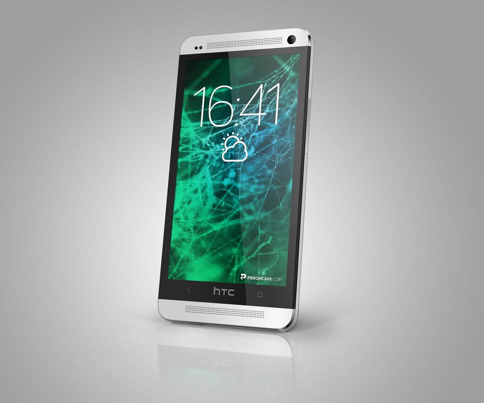 HTC Phone PSD Mockup