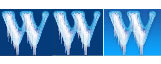 Ice Text Effect Photoshop