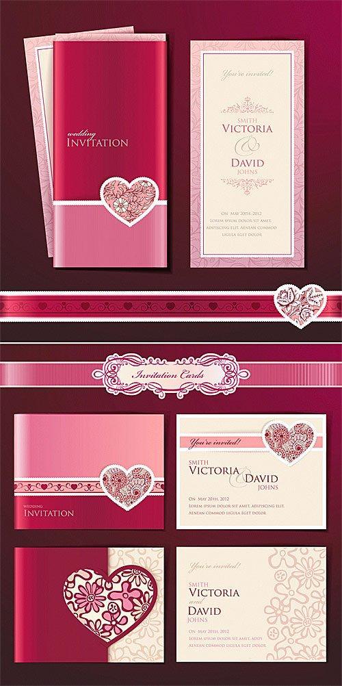 Invitation Card Templates Psd Free Download