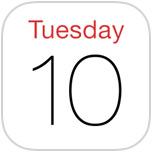 iOS 7 Calendar Icon