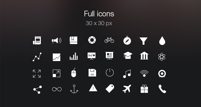 13 Bar Icons IOS Images