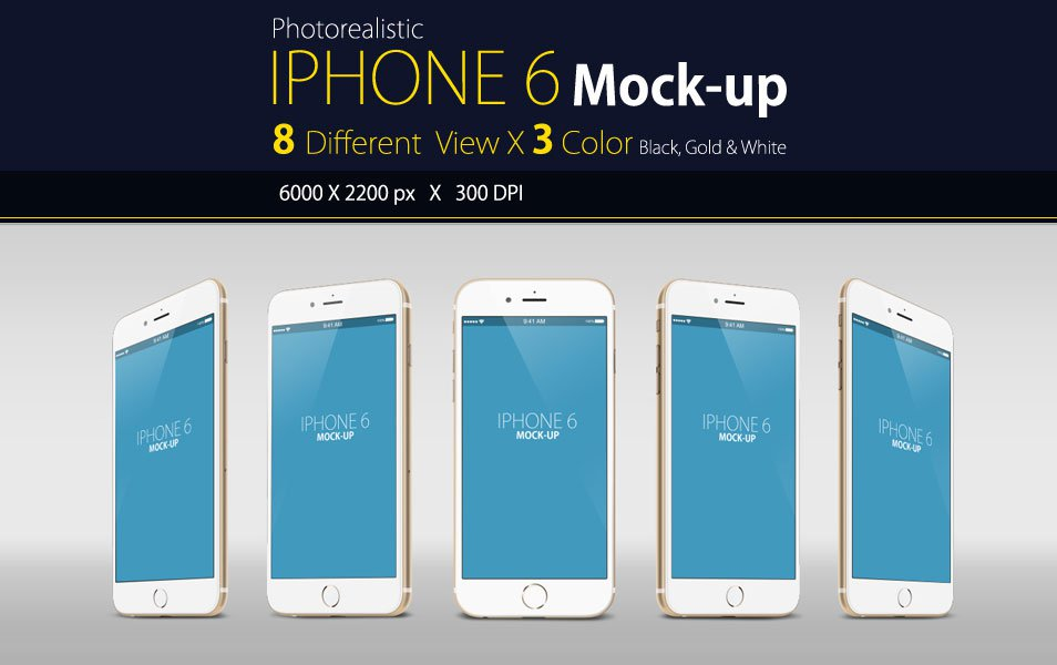 iPhone 6 Mock Up Free
