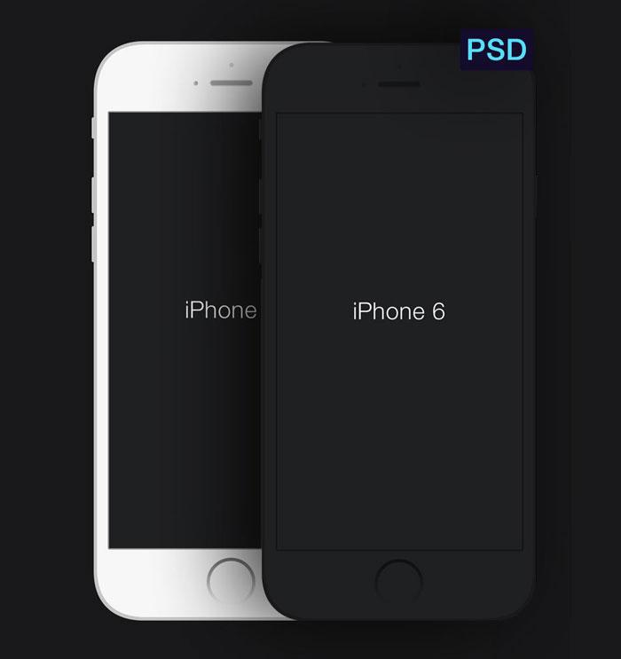 iPhone 6 Screen Mockups PSD