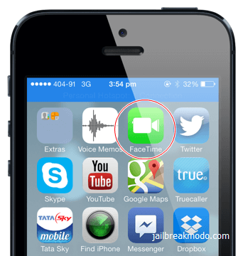 iPhone FaceTime Icon