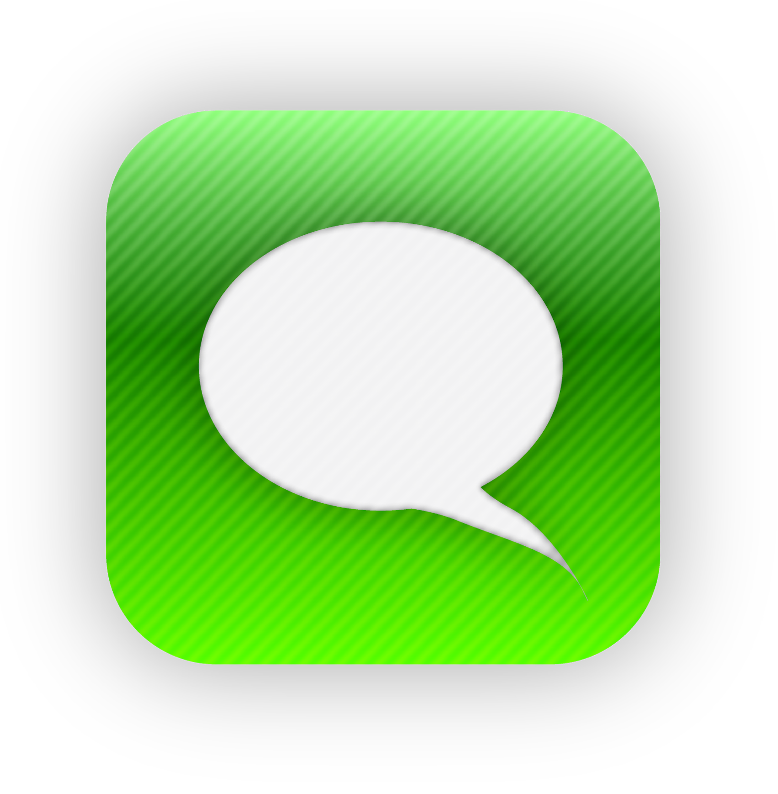 20 IPhone Messages App Icon Images - iPhone App Icons ... Text Icon Png