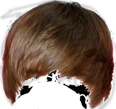 Justin Bieber Hair Template