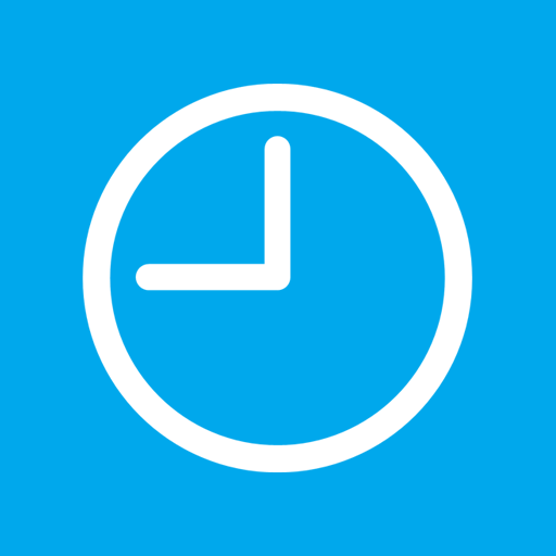 7 Blue Clock Icon Images