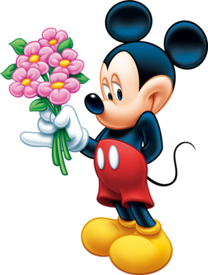 15 Official PSD Flyers Mickey Mouse Images