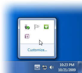 17 View Hidden Icons Windows 7 Images - Wireless Icon System