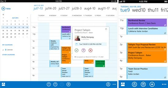 Outlook Calendar App On iPhone