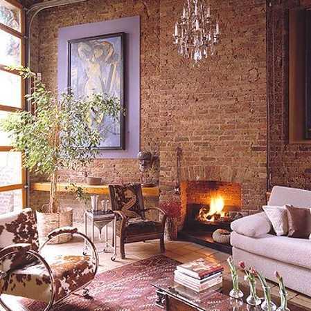 13 brick wall interior design ideas images brick wall for Interior brick wall paint ideas