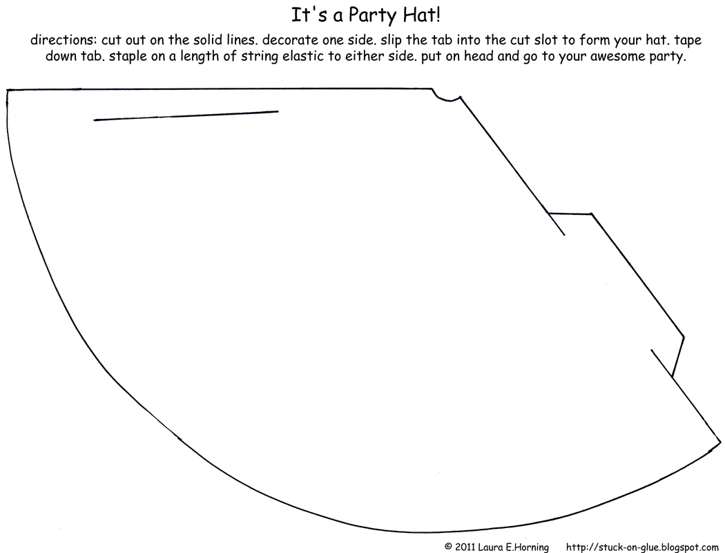 15 Birthday Hat Template Printable Images