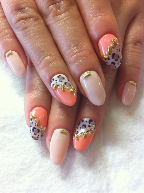 Peach Nail Designs Tumblr