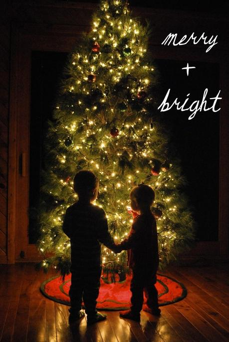 Photographing Kids in Front of a Christmas Tree