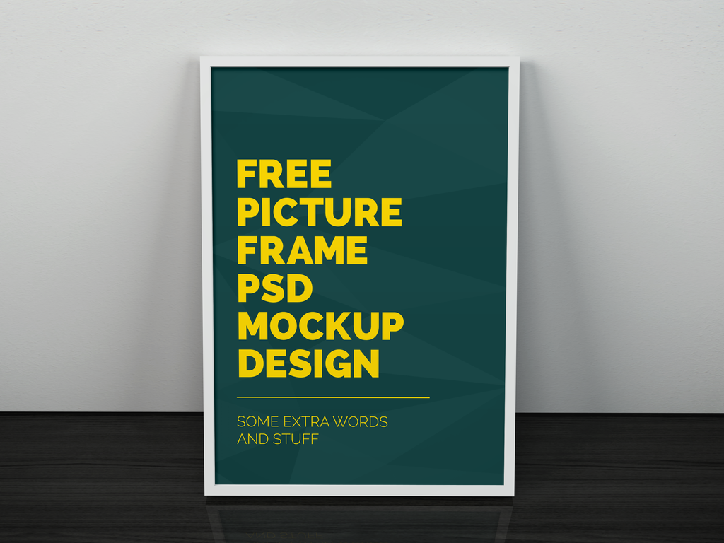 Picture Frame PSD Mockup Templates Free