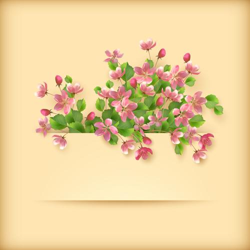 Pink Flower Design Card Images