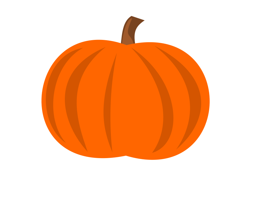 Plain Pumpkin Clip Art