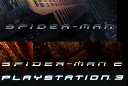 PlayStation 3 Spider-Man Font