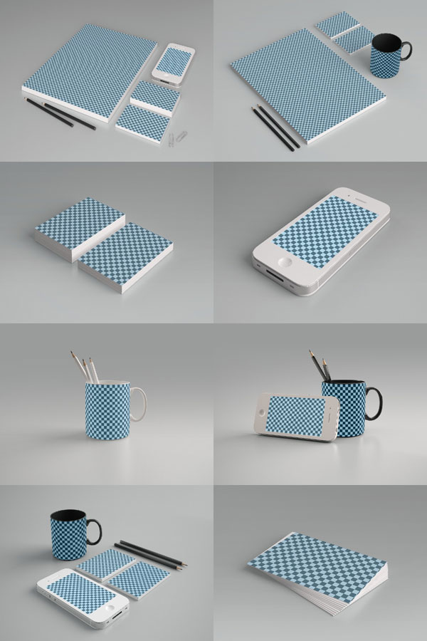 13 Packaging PSD Patterns Images
