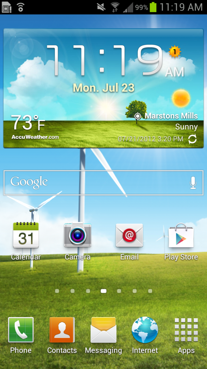 15 Galaxy S3 Screen Icons Images