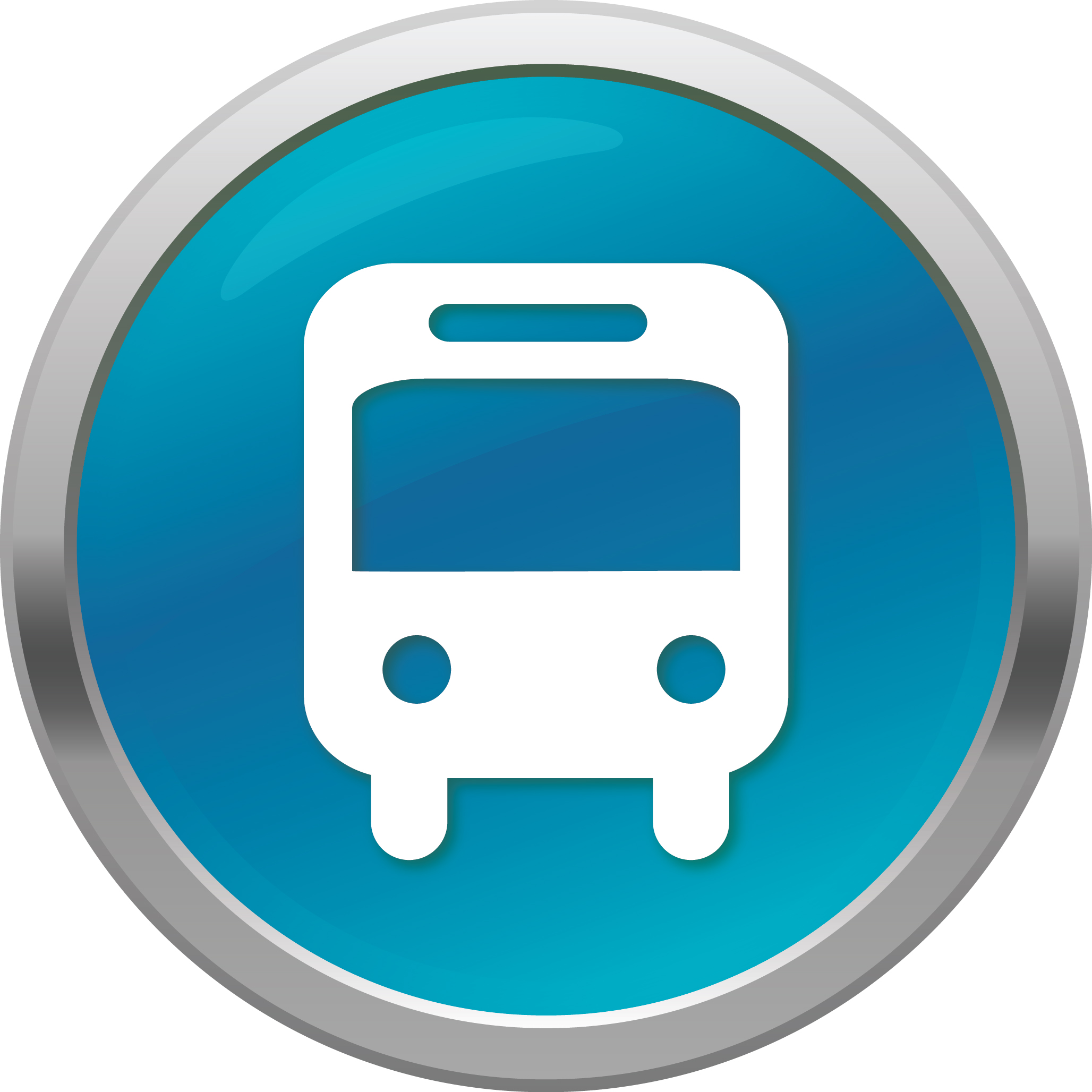 11 Shuttle Bus Icon Images