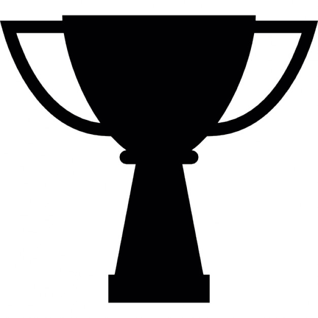 Silhouette Trophy Icon