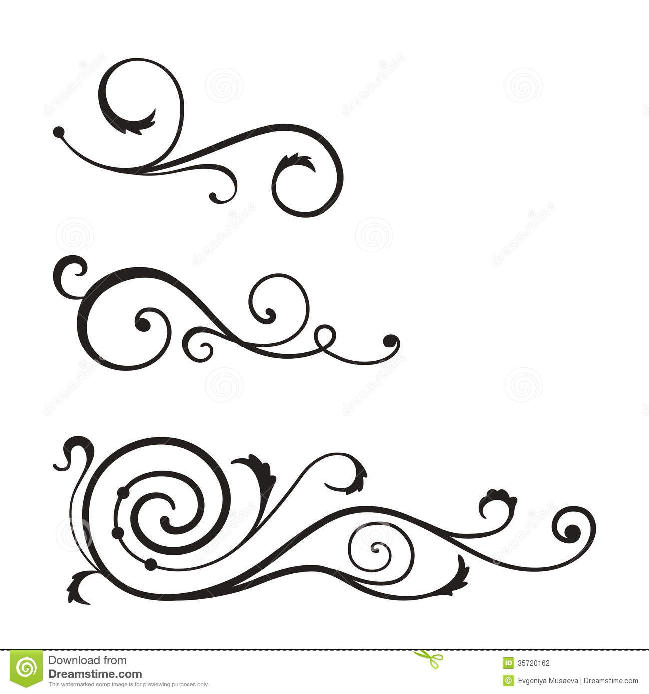 Simple Swirl Designs Stencils : Wings vector swirl pattern images