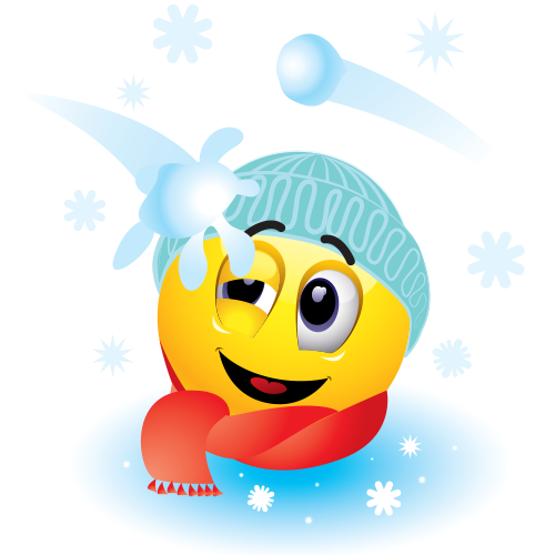 5 Weather Smiley Emoticons Images