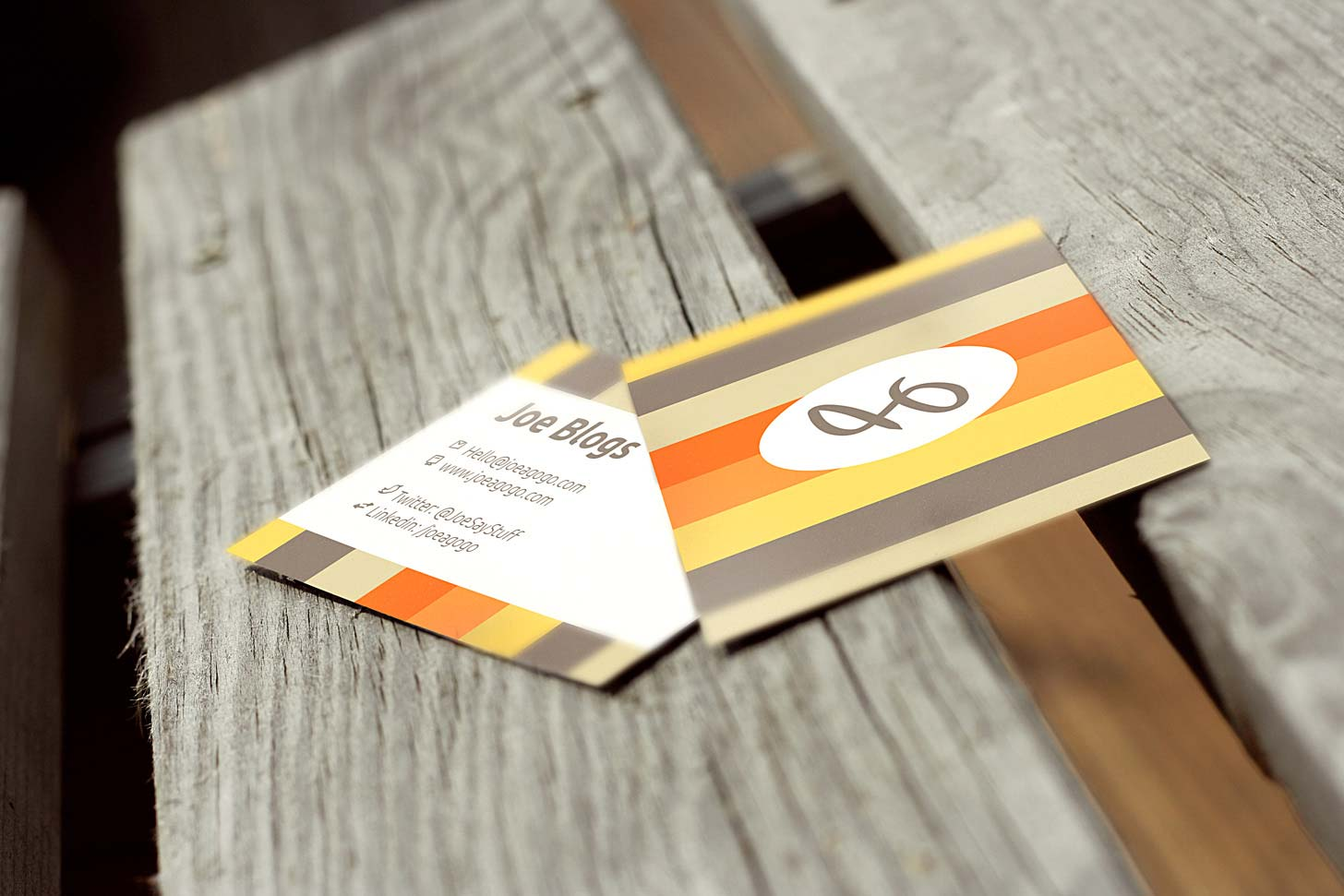 Square Business Card Mockup Psd Free