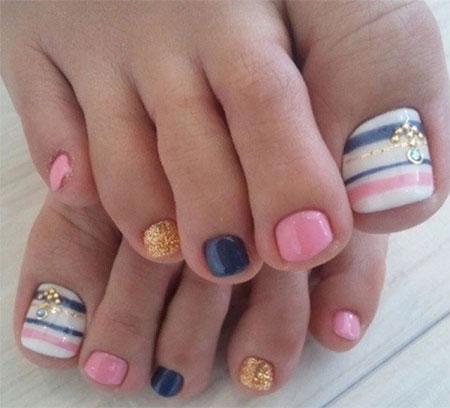 Summer Toe Nail Art Designs