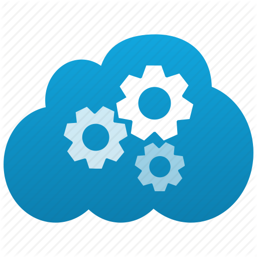 System Cloud Service Icon