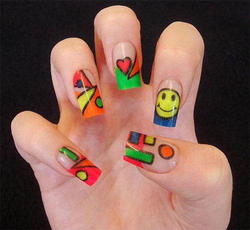 Teen Acrylic Nail Designs 2014