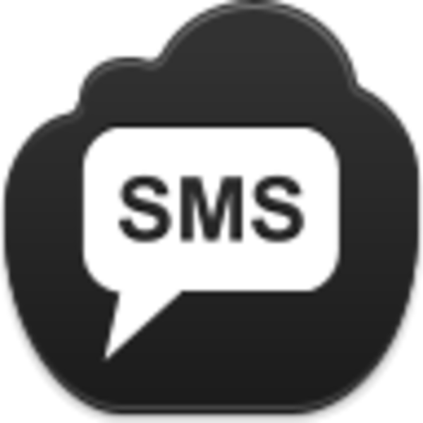 15 Black SMS Png Icon Images - SMS Message Icon, Free SMS ...