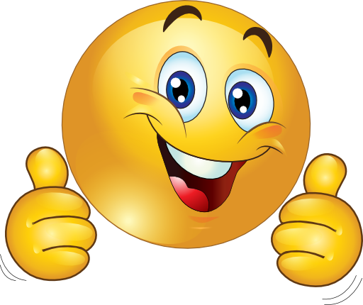 Thumbs Up Smiley Clip Art