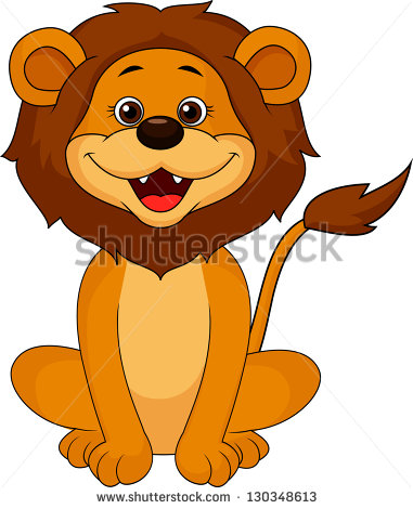 12 Cute Lion Vector Images