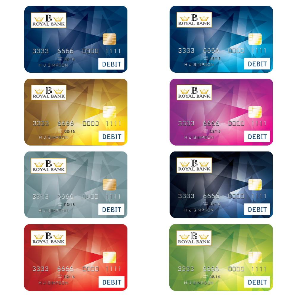 U.S. Bank Card Designs