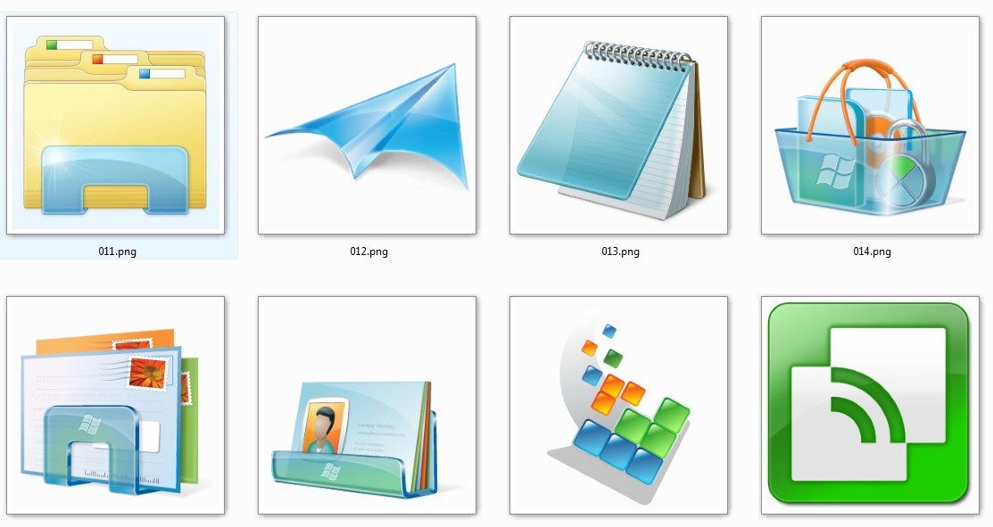 17 Windows 1.0 Desktop Icons Pack Images