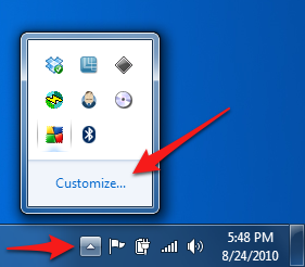 17 View Hidden Icons Windows 7 Images