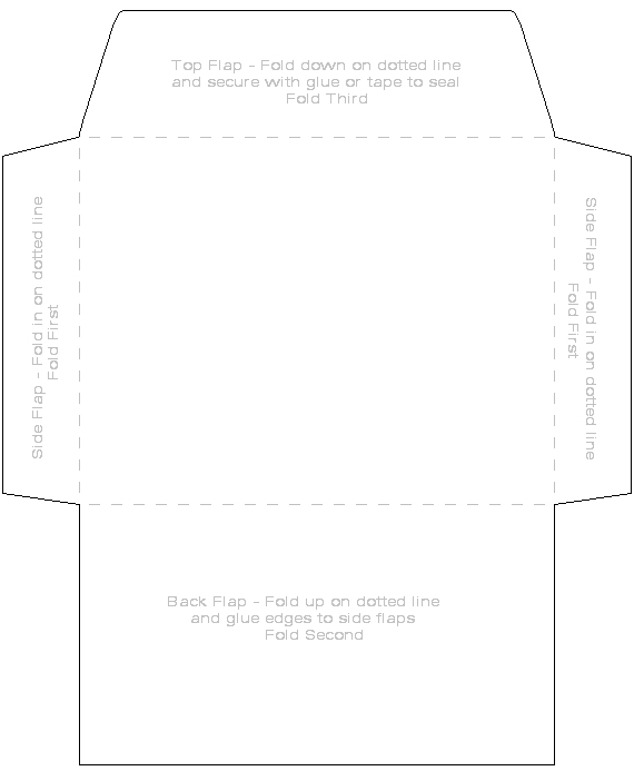 4 X 6 Envelope Template