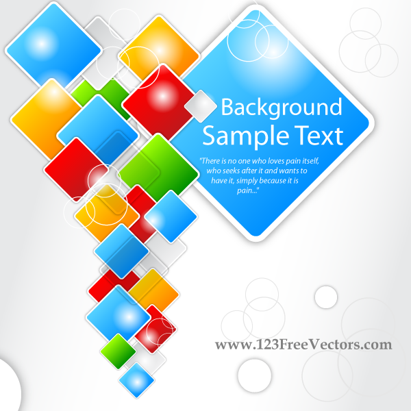 10 Abstract Square Vector Images